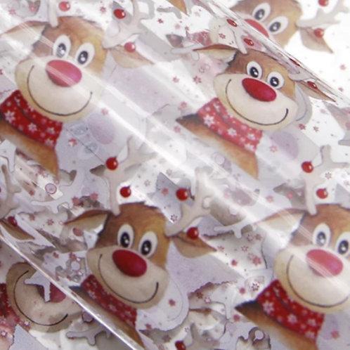 Reindeer Transparent Sheets