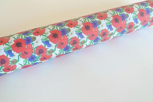 Poppy leatherette