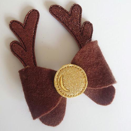Reindeer feltie antlers