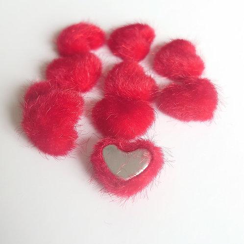 Red velvet hearts