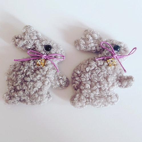 fluffy Padded bunnys