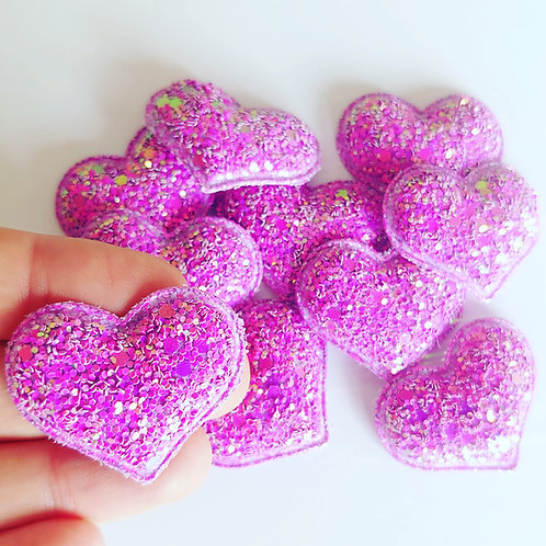 Heart sequin glitter
