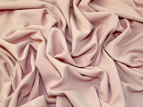 Shell peach Liverpool bullet stretch fabric