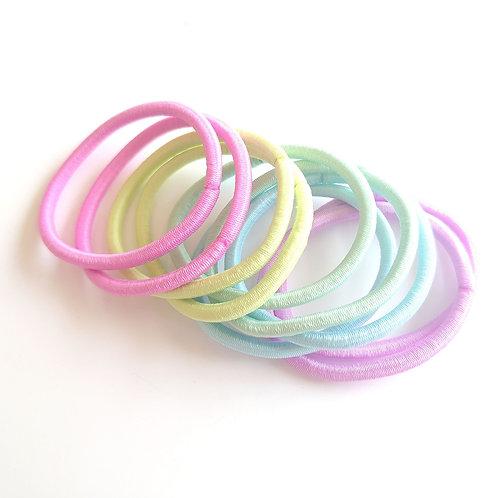 5mm pastel snag free elastics.