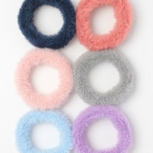 Fur snag free endless elastic/donut