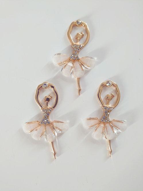 Ballerina charm