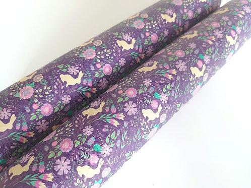 Deep purple bunny