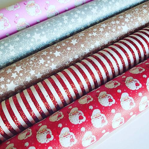 Santa glitter pack