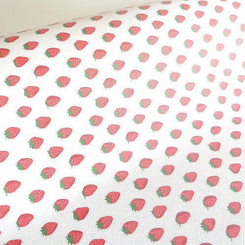 Strawberry leatherette