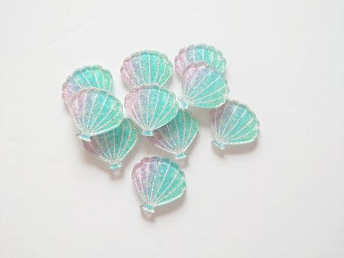 Glitter shells