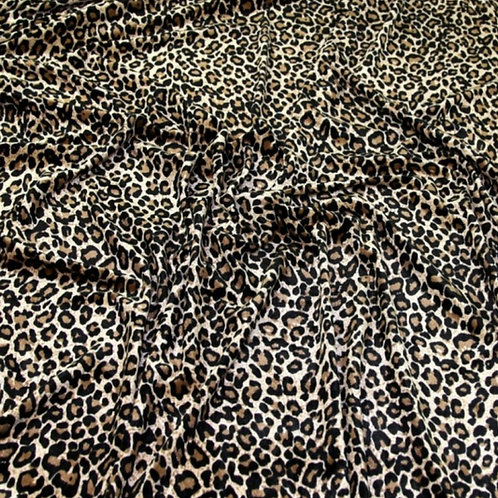 Velvet stretch fabric