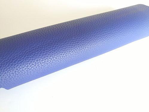 Plain blue super soft leatherette