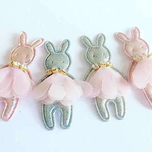 Rabbit jewel Flatbacks