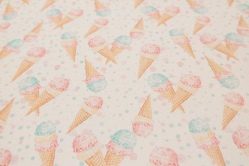 Ice cream leatherette