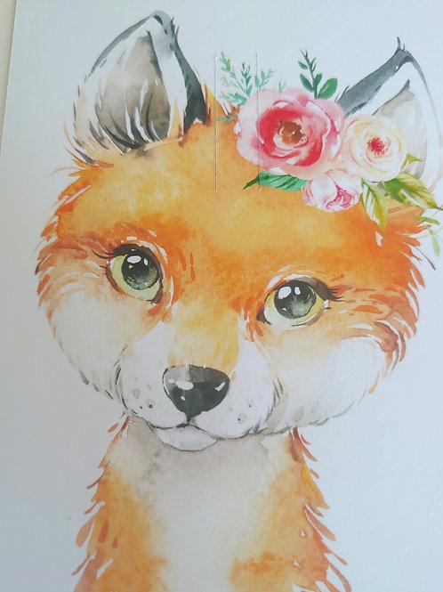 Fox bow card