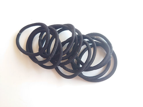 Black nylon soft snag free