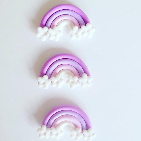 Rainbow flower handmade