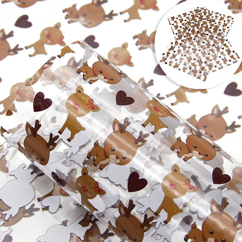 Reindeer Transparent Sheets