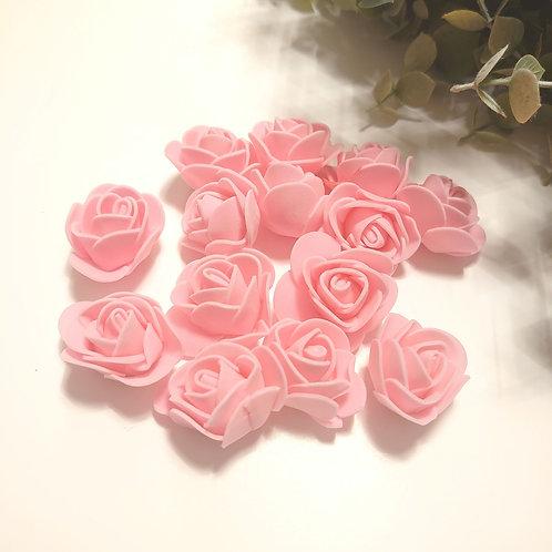 Pink foam roses