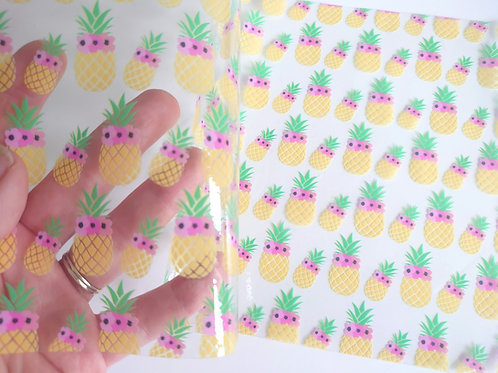 Pineapple transparent
