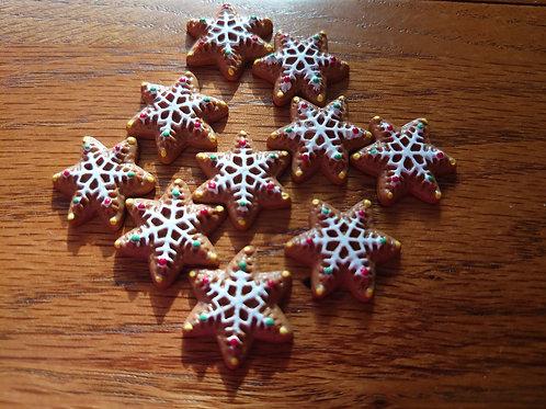 Resin Christmas Cookie Flatbacks