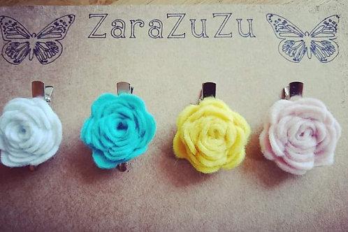 Mini rose template