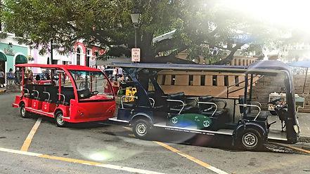 Old san juan City Tour Trolley