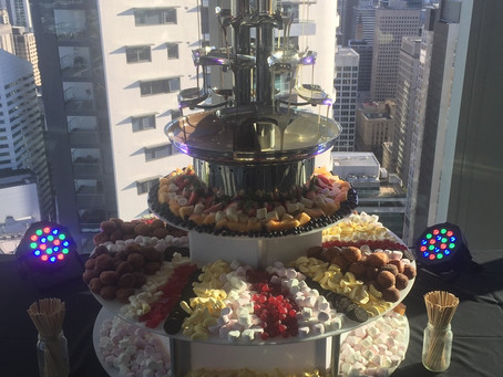 Angel Chocolate Falls – Chocolate Fountains for Events