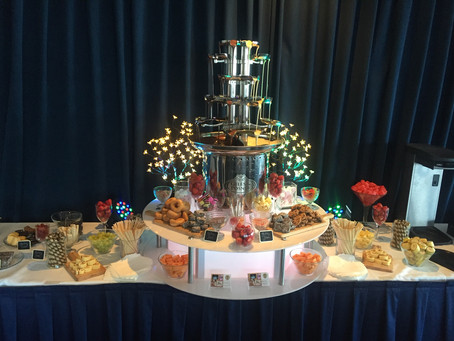 The Magic Of A Double Chocolate Fountain