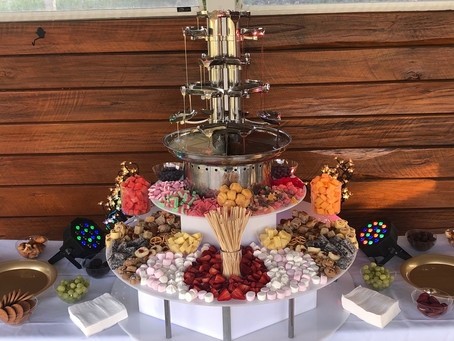 Angel Chocolate Falls - Chocolate Fountains for Events