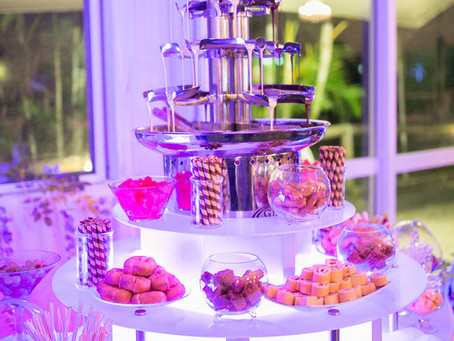 Hire a Chocolate Fountain for your next event!
