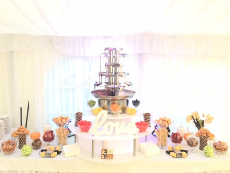 Twice The Fun! Hire A Double Chocolate Fountain For Your Special Event