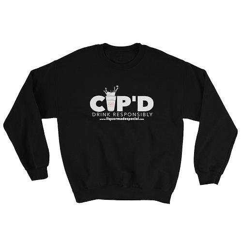 Black CUP'D Sweatshirt