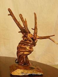 Gueule de bois créations lampes pendules murales manches couteaux