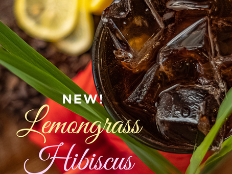 Foxtail's New Lemongrass Hibiscus Cold Brew!