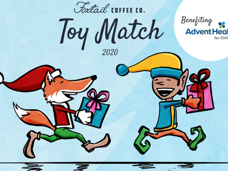 Foxtail Coffee Toy Drive