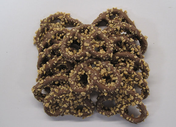 Toffee Milk Chocolate Covered Pretzels