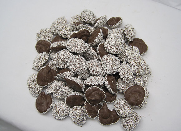 Milk Chocolate Non- Pareils w/ White topping