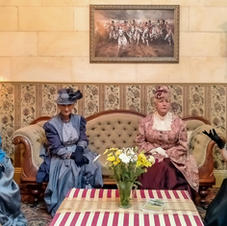 Gossiping in the parlour