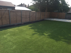 Artificial lawn (80 square meters)