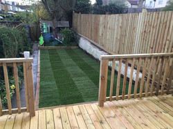 Lawn and Decking