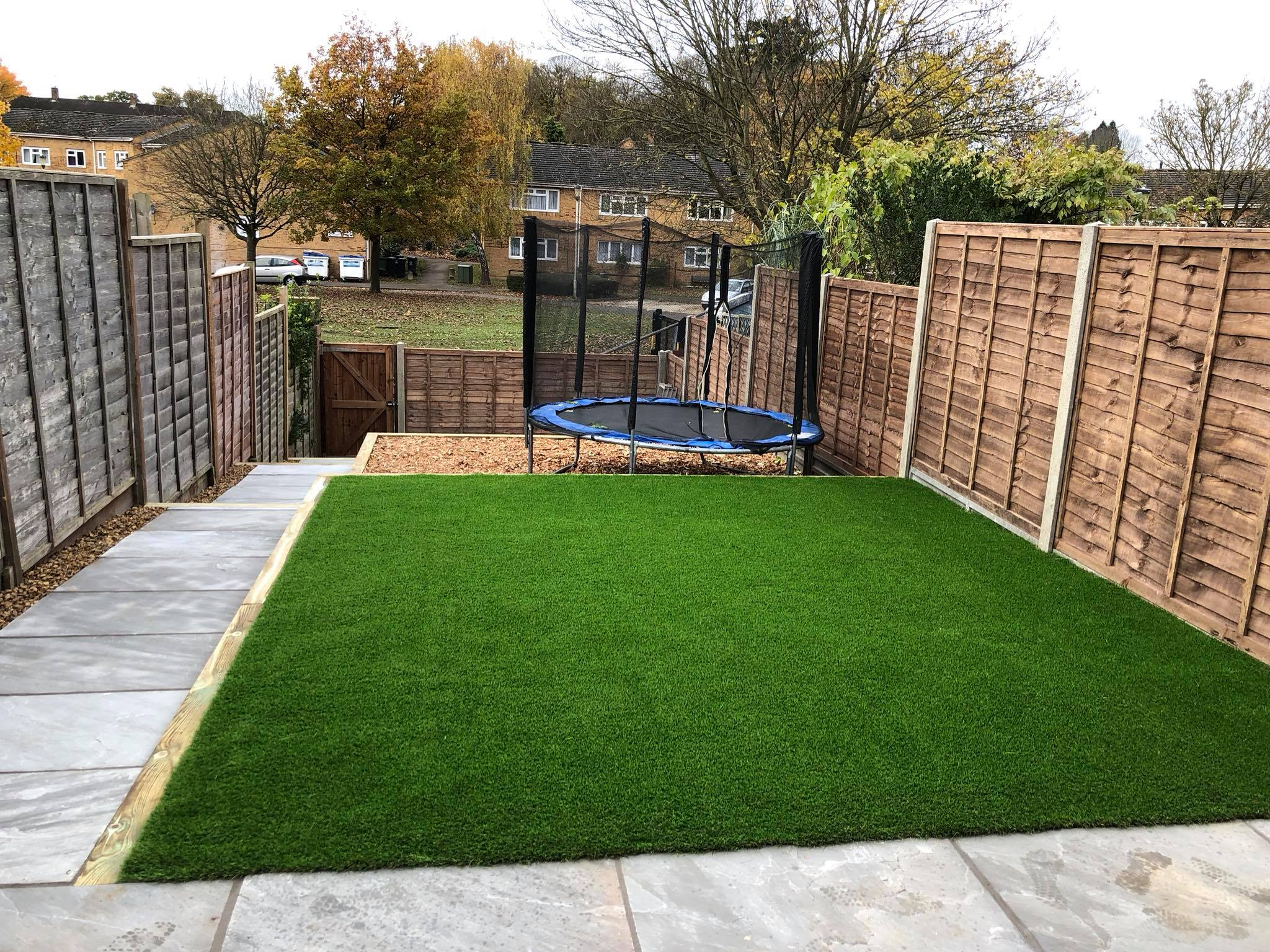 Artificial Grass & Patio in Watford