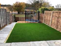 Artificial Grass & Patio in Watford