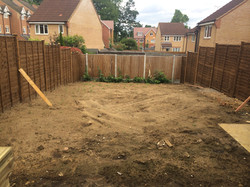 Decking and Lawn, Watford