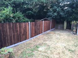 5ft featheredge fence