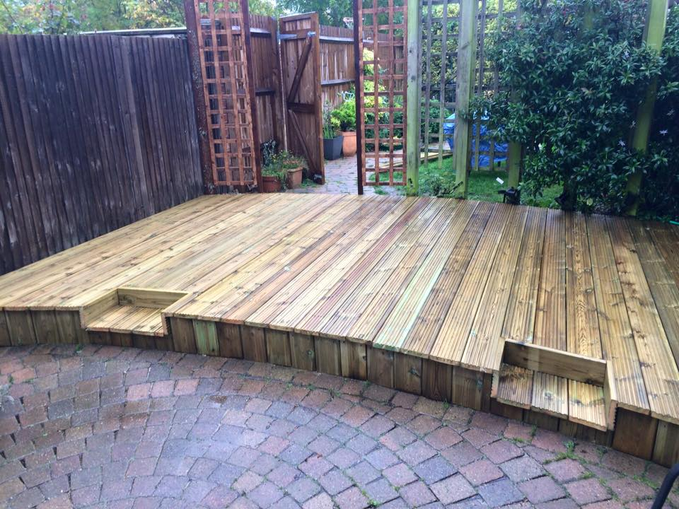 Decking and Trellis