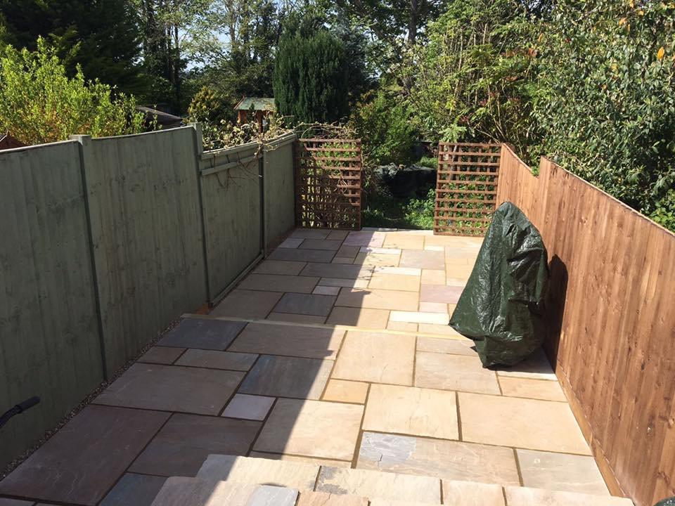 Indian Sandstone Patio, St Albans