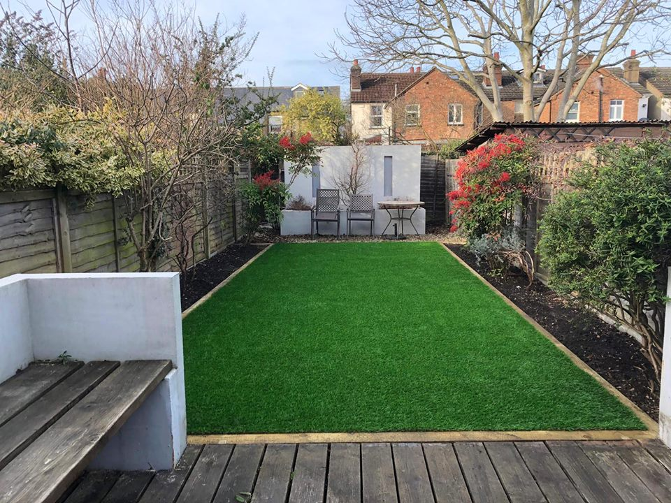 Artificial grass, Hertfordshire