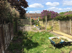 Artificial Lawn, Decking & Fence