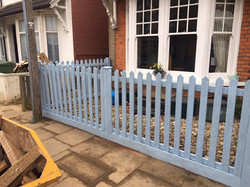 Picket Fence, St Albans.